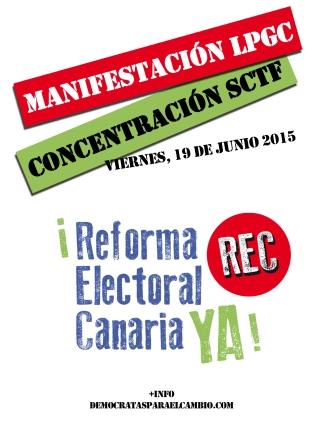 Manifestacion-Concentración 19J